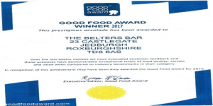 belters good food awards 2017