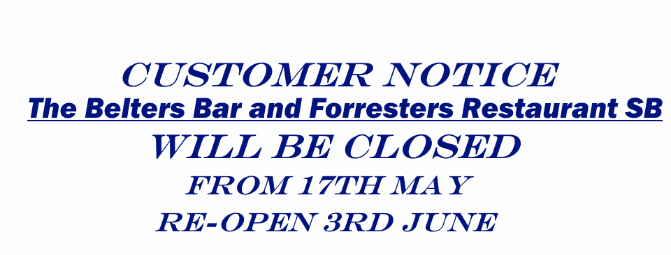 May Closure